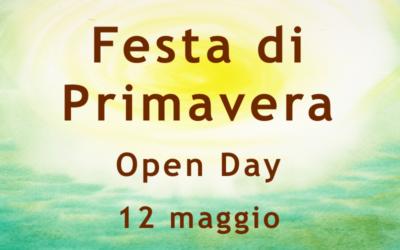 Festa di primavera – Open day 12 Maggio dalle 10.00 alle 19.00